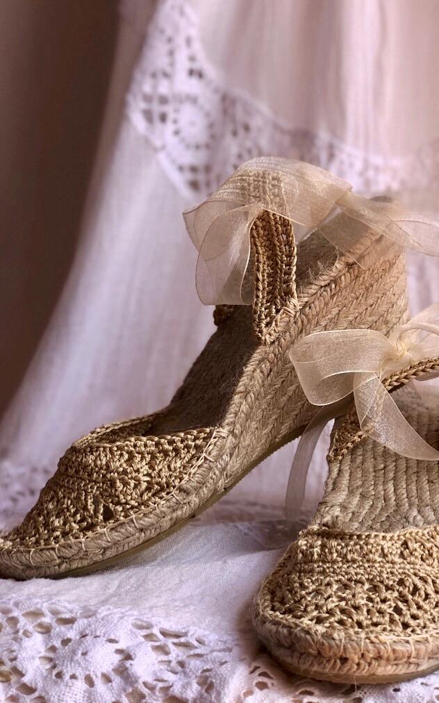 Wedding Espadrilles Gold